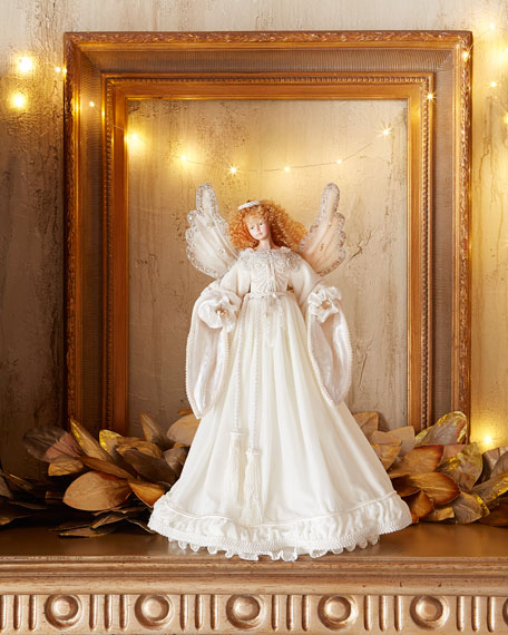 Snow Queen Angel Christmas Tree Topper
