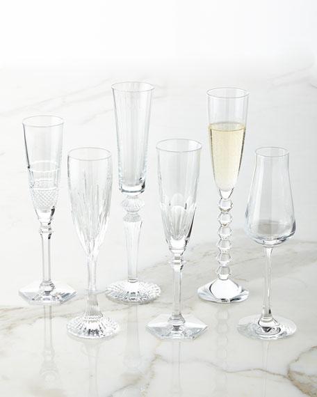 Baccarat Champagne Flutes, 6-Piece Set