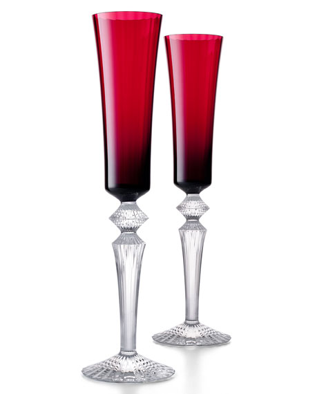 Mille Nuits Red Flutissimos, Set of 2