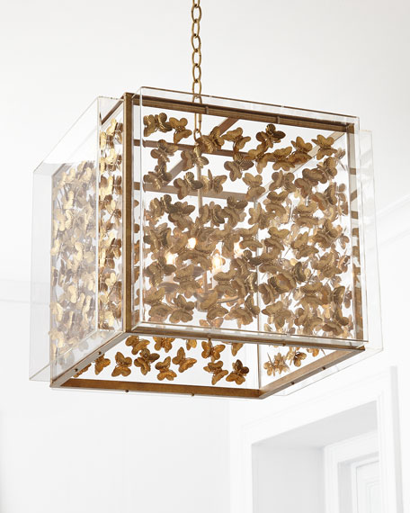 Tommy Mitchell Medium Butterfly 4-Light Pendant