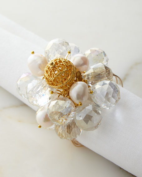 Joseph Williams Clear Baubles Napkin Ring