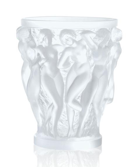 Bacchantes Clear Vase