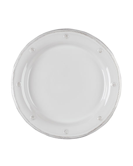 Berry & Thread Whitewash Dinner Plate