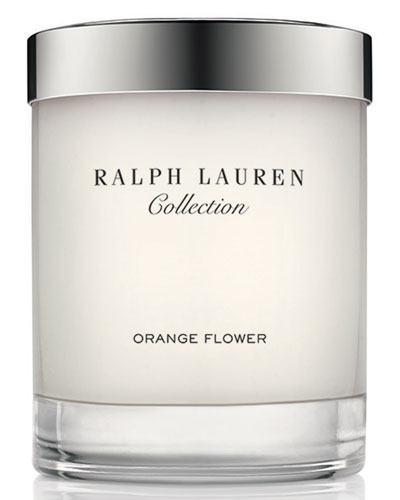 Orange Flower Candle, 210g