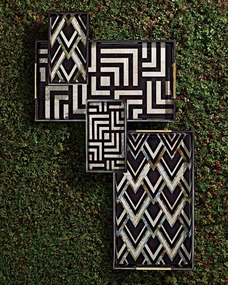 Dedale Large Geometric Tray