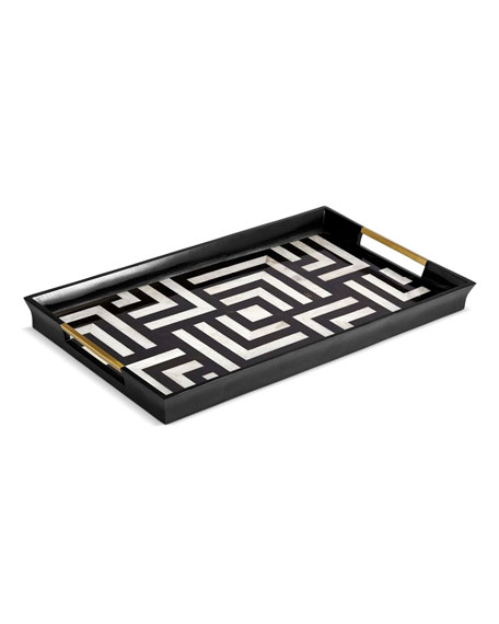 Dedale Large Geometric Tray