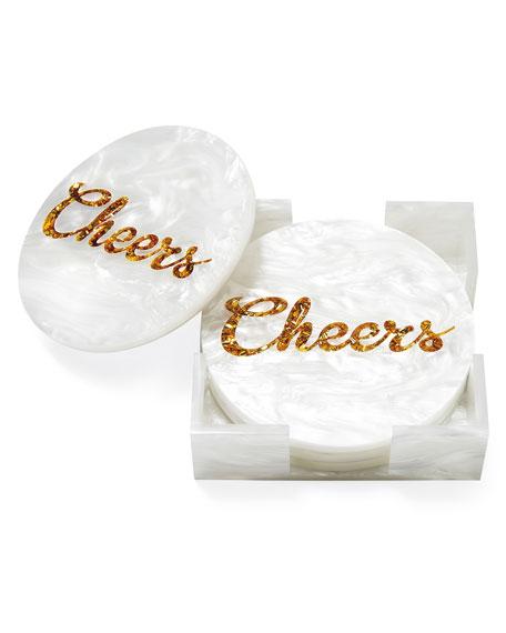 Cheers Handmade Coasters Set of Four