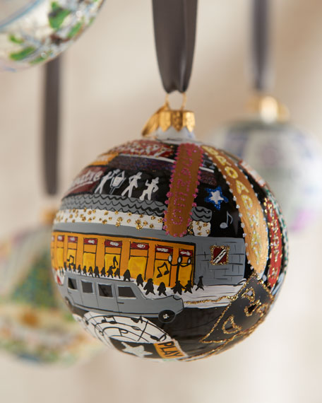 """Broadway"" Christmas Ornament"