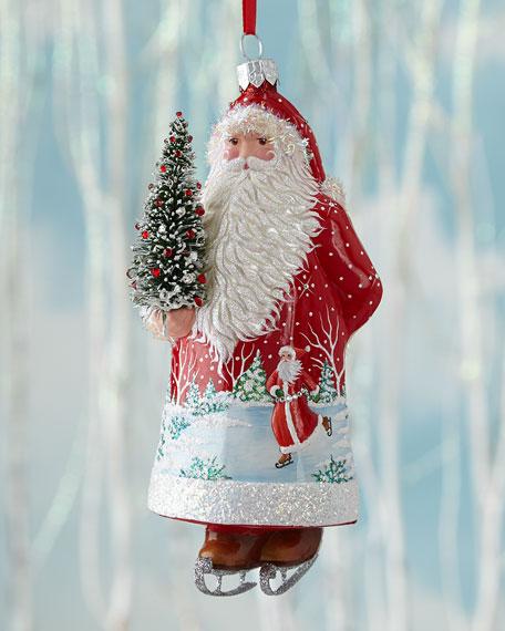 Patricia Breen Santa for Colin Christmas Ornament