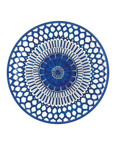 Bleus D'Ailleurs Large Round Tray
