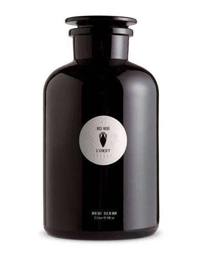 Rose Noir Bath Salt, 2 L