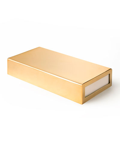 Oversized Gold Matchbox