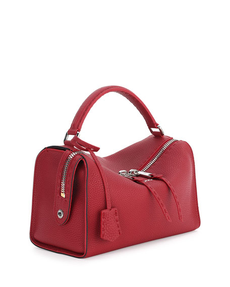 Selleria Lei Roman Calf Boston Bag
