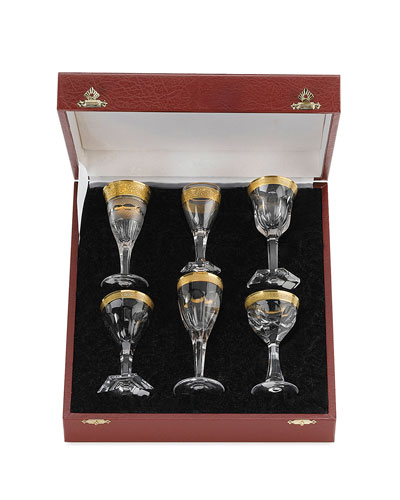 Liqueur Glasses  6-Piece Set
