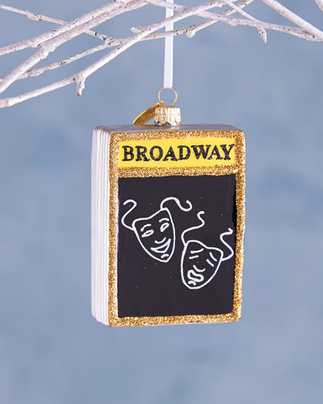 Playbill by Michael Storring Christmas Ornament