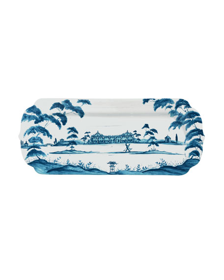 Juliska Country Estate Delft Blue Hostess Tray