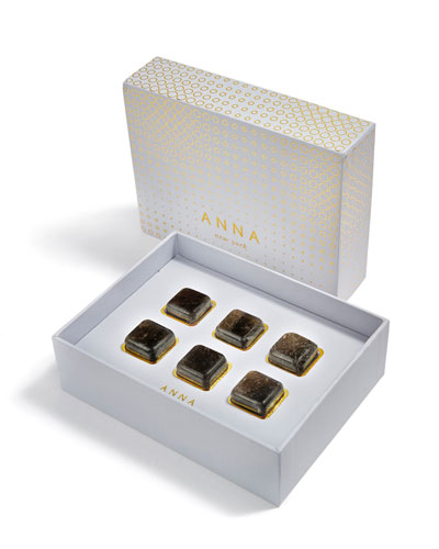 Vida Smokey Quartz Whisky Cubes, Set of 6
