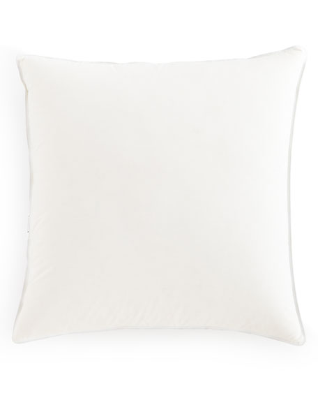 "European Meditation Medium-Support Pillow, 26""Sq."