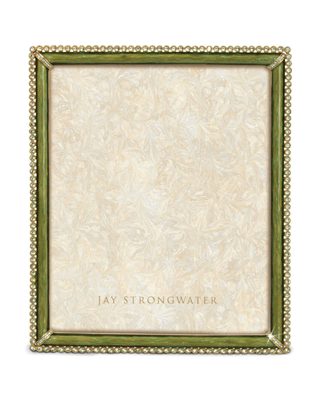 Jay Strongwater Laetitia Picture Frame, 8