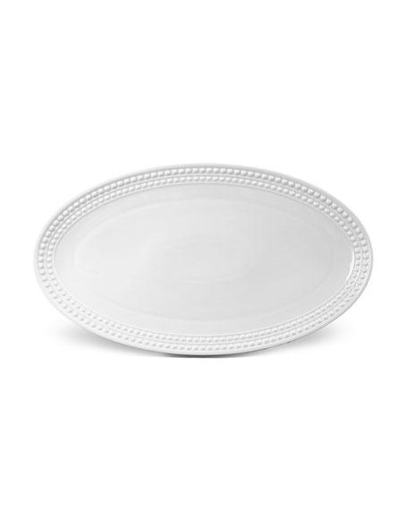 L'Objet Perlee Large Oval Platter