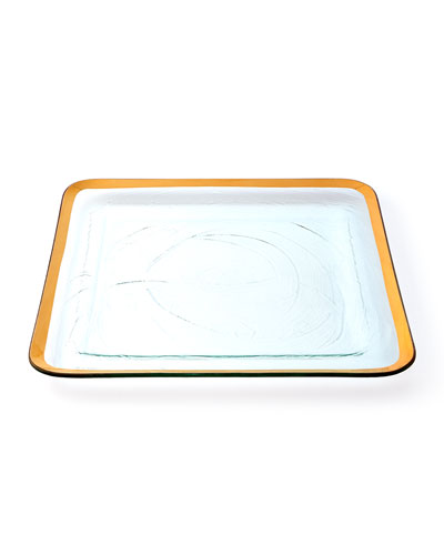 Roman Antique Square Tray