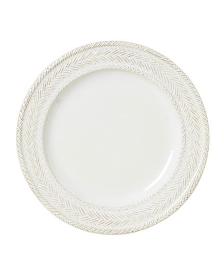 Le Panier Whitewash Dessert/Salad Plate