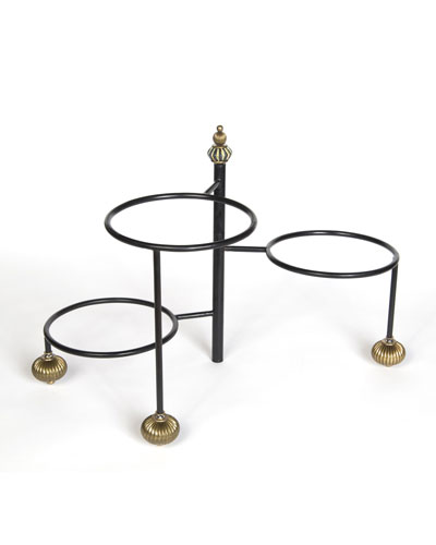 Large Courtly Check 3-Tier Stand