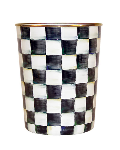 Courtly Check Wastebasket