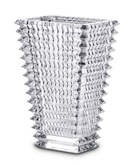 Baccarat Small Rectangular Eye Vase