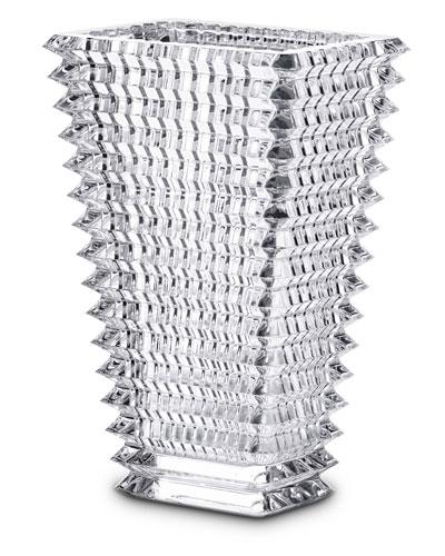 Tall Rectangular Eye Vase