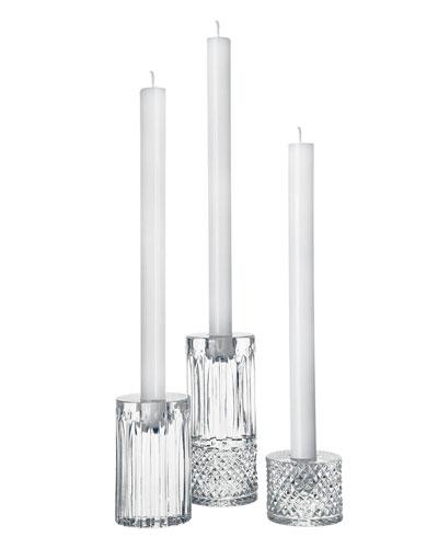 Tommy Contemporary Candlesticks  3-Piece Set