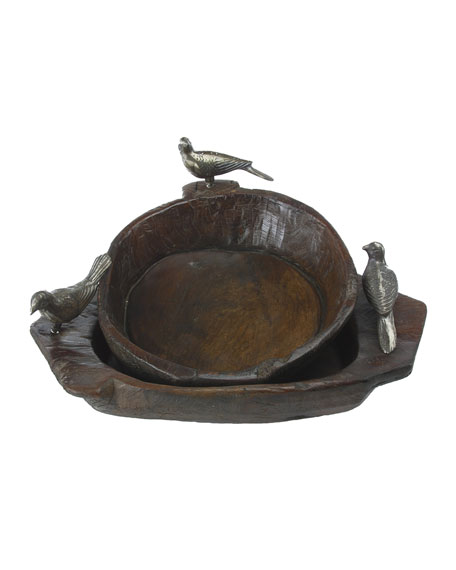 Jan Barboglio Primitive Two-Bird Bowl