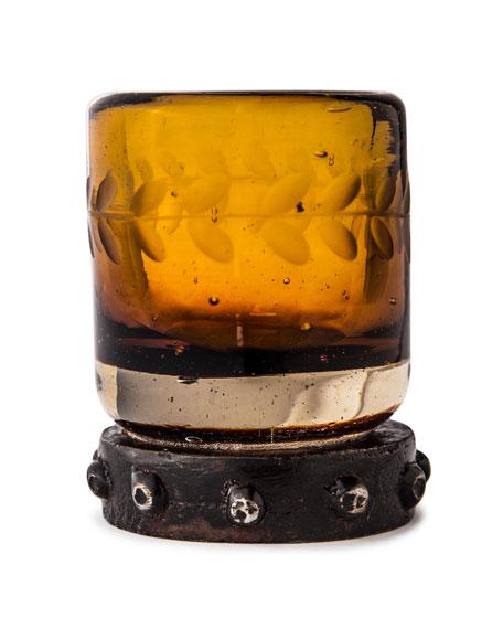 Jan Barboglio Zachshot Saffron Glass