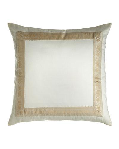 Garland Pillow  22Sq.