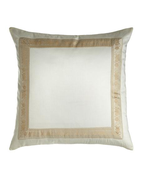 Nancy Koltes Garland Pillow, 22