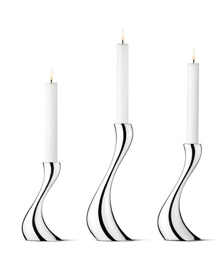 Georg Jensen Cobra Candleholders, 3-Piece Set