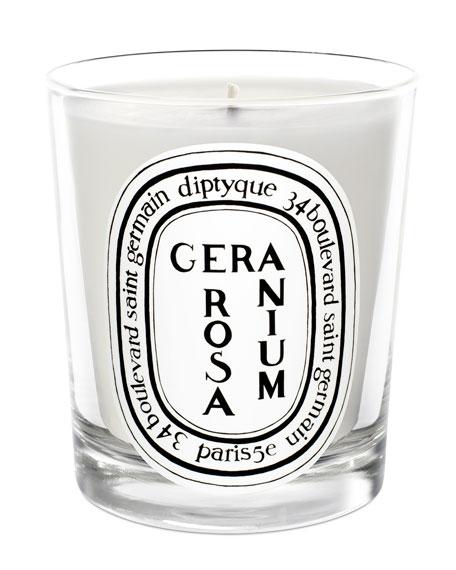 Geranium Rose Scented Candle