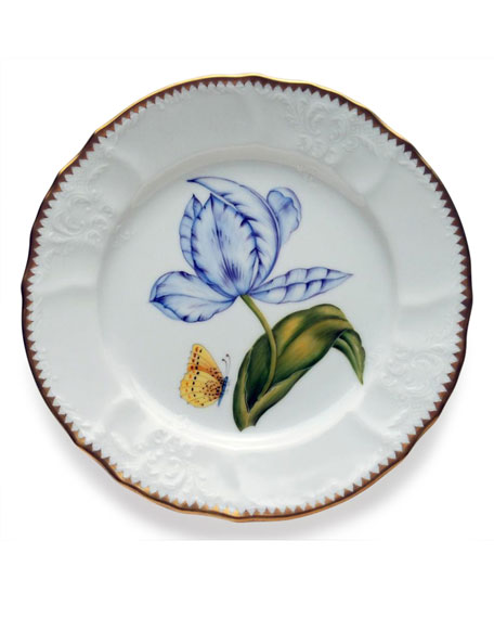 Anna Weatherley Old Master Tulips Salad Plate