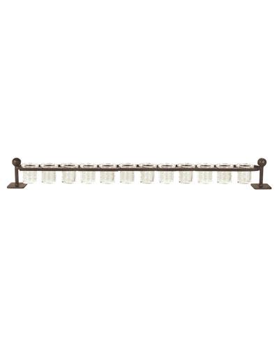12-Light Railroad Candleholder