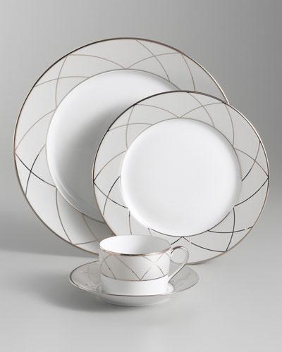 Clair de Lune Arches Dessert/Salad Plate