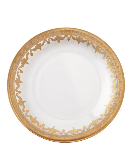Vetro Gold Dinner Plate