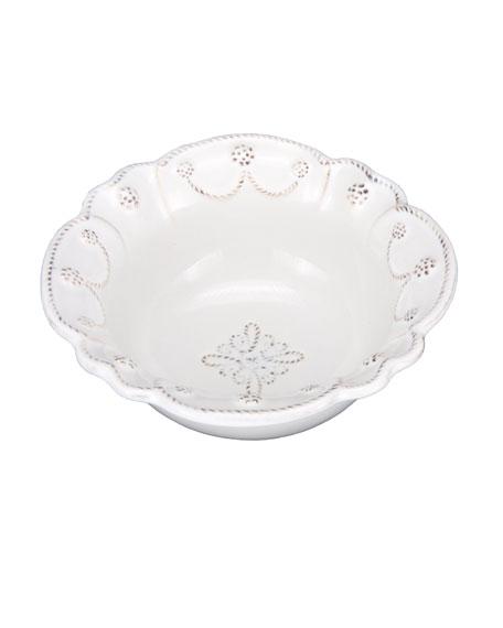Juliska Jardins du Monde Whitewash Cereal/Ice Cream Bowl