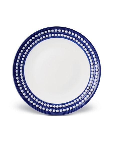 L'Objet Perlee Bleu Dessert Plate