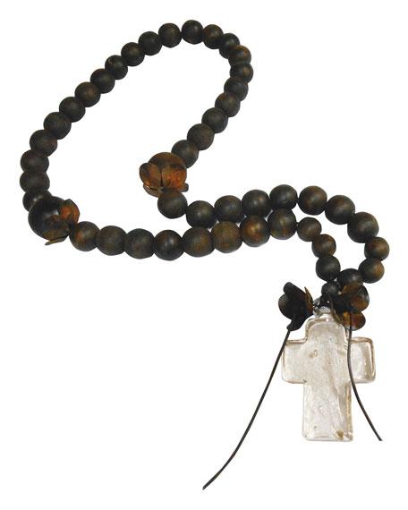 Jan Barboglio Cruz Vidrio Blessing Beads