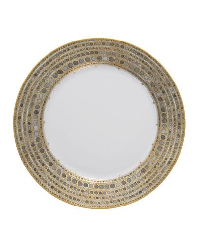 Syracuse Taupe Dinner Plate