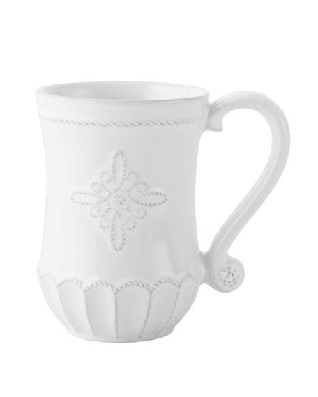 Juliska Jardins du Monde White Mug