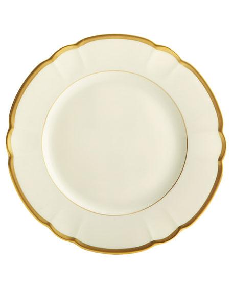 Haviland & Parlon Colette Gold Salad/Dessert Plate