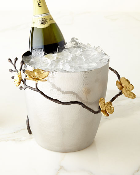 Michael Aram Gold Orchid Champagne Bucket