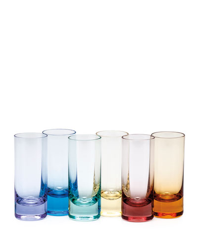 Vodka Shot Glasses, 6-Piece Set