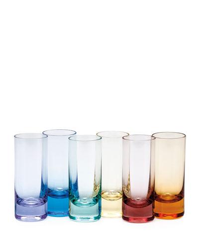 Vodka Shot Glasses  6-Piece Set
